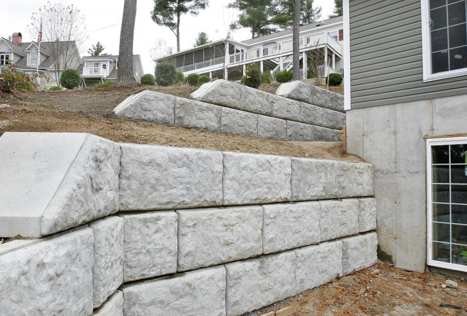 Landscape Blocks On A Slope : Landscape half slope blockout world block