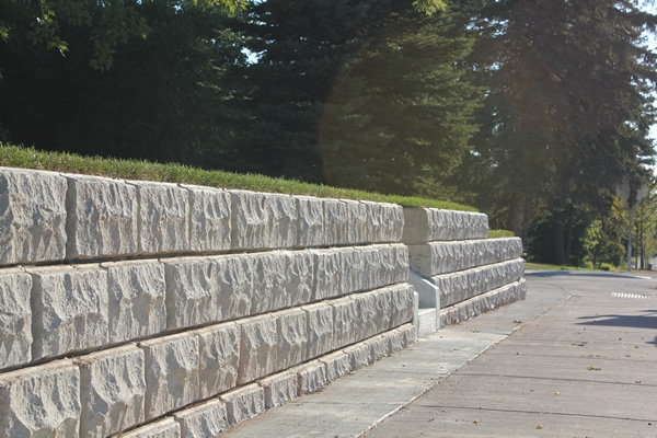 Form liner 12 x 24 x 3 mid size quarry stone world block - Decorative concrete wall forms ...
